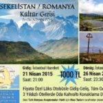 Sekelistan / Romanya Kültür Gezisi 21-26 Nisan 2015