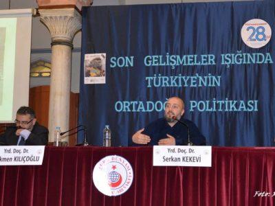 Suriye'deki Son Gelişmeler Işığında Türkiye'nin Orta Doğu Politikası
