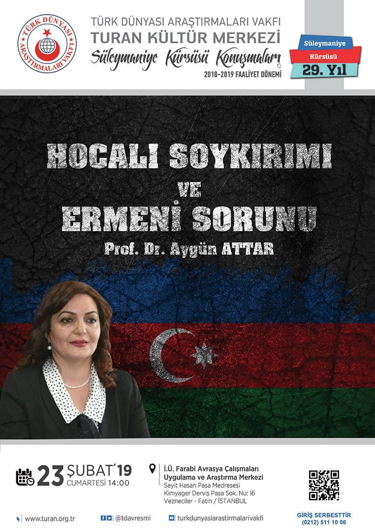 Hocalı Soykırımı ve Ermeni Sorunu