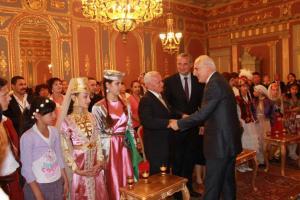 19. Türk Dünyası Çocuk Şöleni T.C. İstanbul Valiliği Kabul Töreni