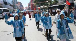 19. Türk Dünyası Şölen Yürüyüşü