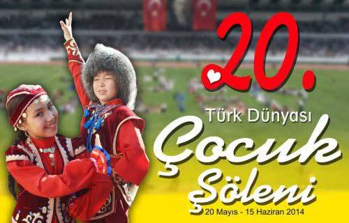 20. Türk Dünyası Çocuk Şöleni-1