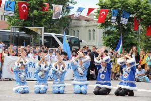 20. Türk Dünyası Şölen Yürüyüşü