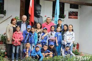21. Türk Dünyası Çocuk Şöleni Geliş Tuva