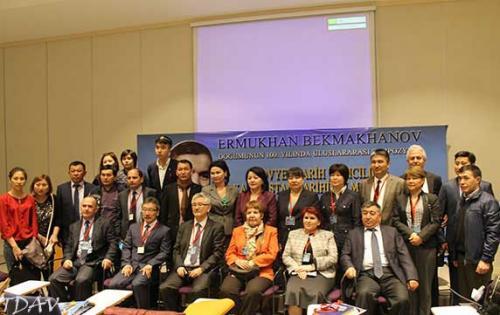 Kazak Tarihçisi Ermukhan Bekmakhanov Sempozyumunu İzledik