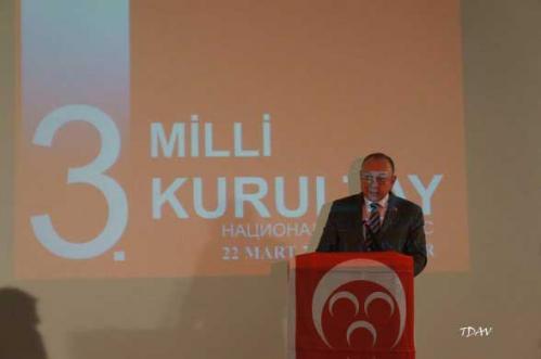 Makedonya Türk Milli Birlik Hareketi TMBH'nin Kurultayına Katıldık