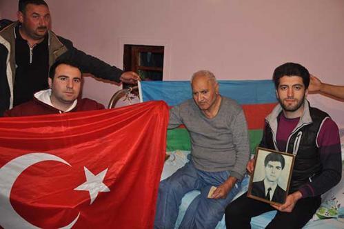 TDAV Gençlik Kolları Mezunlarından Azerbaycan-Karabağ Mağdurlarına Ziyaret