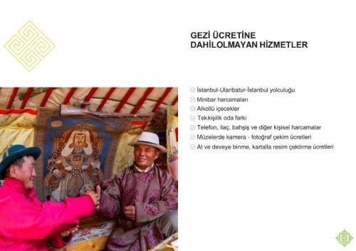 Moğolistan Gezi Programı 2018