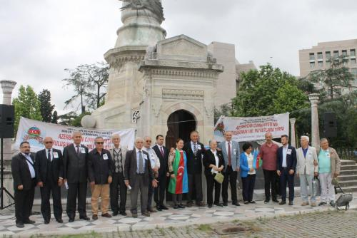 """Azerbaycan Cumhuriyeti'nin Kuruluşunun 100. Yıldönümü""""nü Kutladık"""