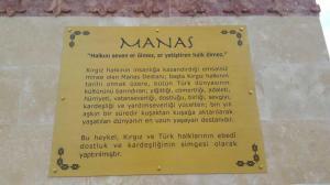 Manas'ın Heykelinin Açılşına Katıldık 2017