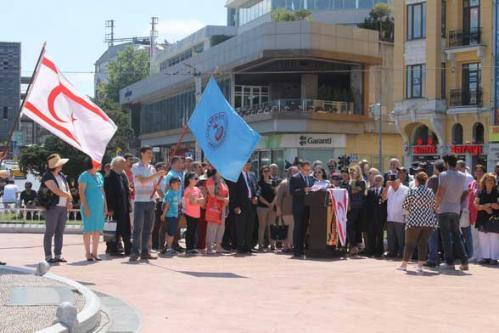 Kıbrıs Barış Harekatı'nın 41. Yıldönümünü Kutladık