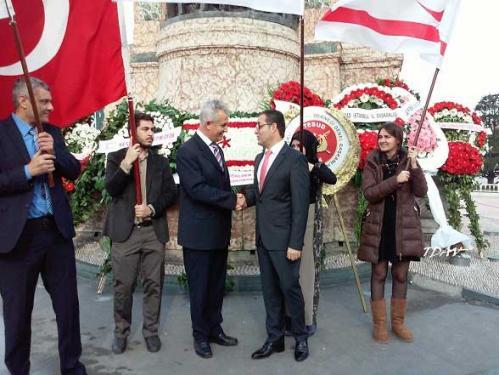 Kuzey Kıbrıs Türk Cumhuriyeti'nin Kuruluşunun 32. Yıldönümünü  Kutladık
