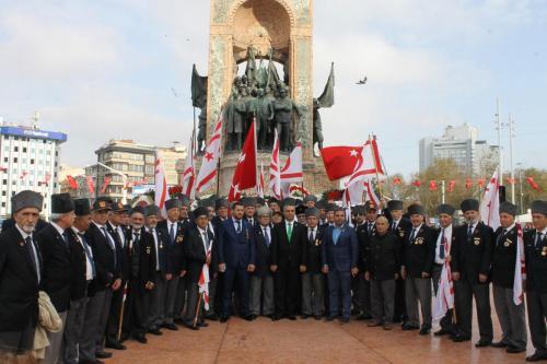 Kuzey Kıbrıs Türk Cumhuriyeti'mizin Kuruluşunun 34. Yıldönümünü Kutladık