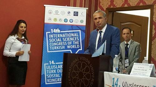 14. Uluslararası Türk Dünyası Sosyal Bilimler Kongresini Düzenledik