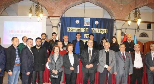 Turan Kültür Merkezi - Osmanlıda Mülkiyet ve Tasarruf