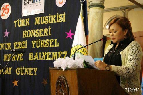 """Turan Kültür Merkezi - Bakırköy Musiki Konservatuarı Vakfı Himayelerinde """"Türk Musikisi Konseri"""""""