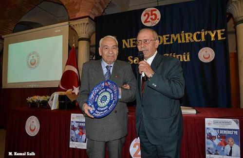 Turan Kültür Merkezi - Dr. Nefi Demirci'ye Saygı Günü