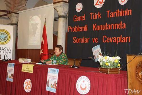 Turan Kültür Merkezi - Genel Türk Tarihinin Problemli Konularında Sorular ve Cevapları