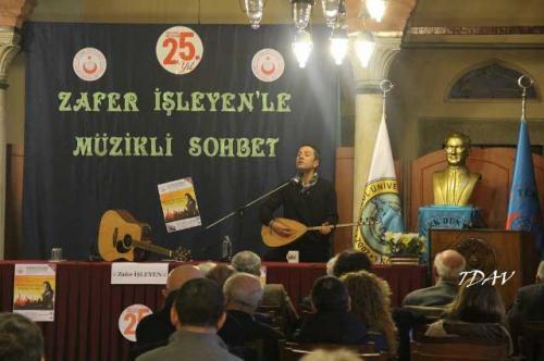 Turan Kültür Merkezi - Zafer İşleyen'le Müzikli Sohbet