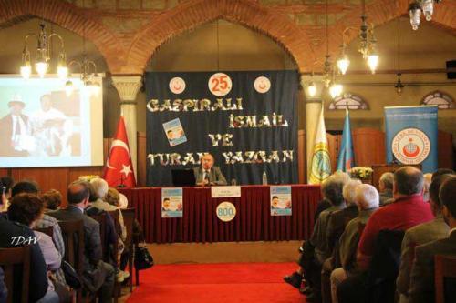Turan Kültür Merkezi - Gaspırali İsmail ve Turan Yazgan