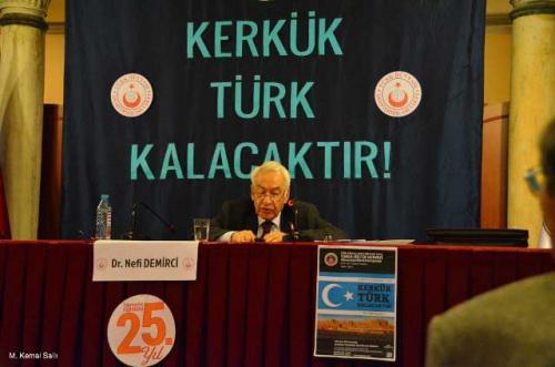 Turan Kültür Merkezi - Kerkük Türk Kalacaktır
