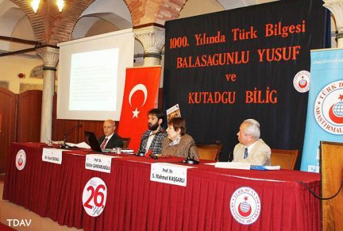 Turan Kültür Merkezi - 1000. Yılında Türk Bilgesi Balasagunlu Yusuf ve Kutadgu Bilig
