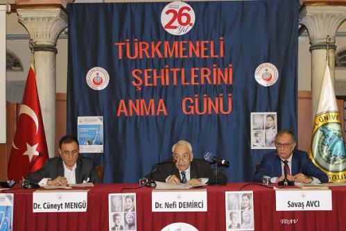 Turan Kültür Merkezi - Türkmeneli Şehitlerini Anma Günü ve Türkmenlerin Bugünkü Durumu