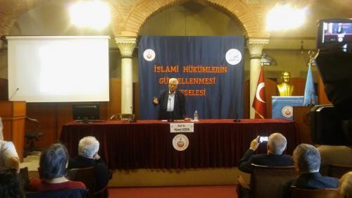 Turan Kültür Merkezi - İslamî Hükümlerin Güncellenmesi Meselesi