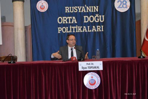 Turan Kültür Merkezi - Rusya'nın Orta Doğu Politikaları