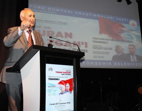 Prof. Dr. Turan Yazgan'ı Anma Programı 2017