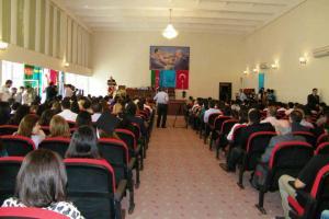 Türk Dünyası Bakü İşletme Fakültesi 2013 Mezuniyet