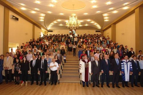 Türk Dünyası Bakü İşletme Fakültesi 2017 Mezuniyet