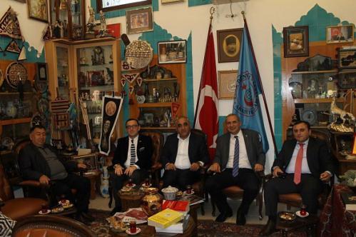 Azerbaycan Devlet İktisat Üniversitesi Rektörü Vakfımızı Ziyaret Etti