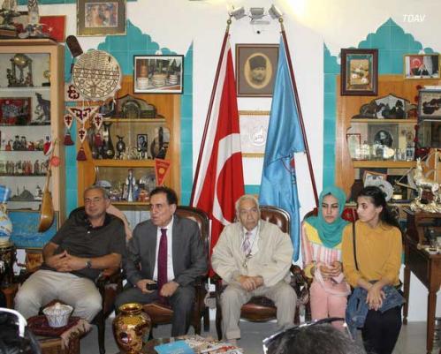 Irak - Türkmeneli Heyeti Vakfımızı Ziyaret Etti