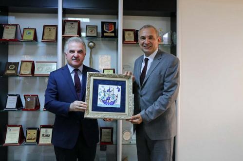 SAÜ Rektörü Prof. Dr. Muzaffer Elması Ziyaret Ettik