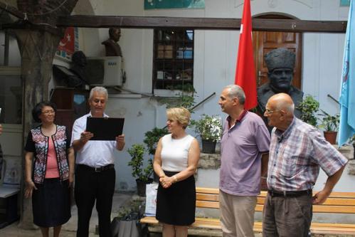 K.K.T.C İstanbul Başkonsolosluğu Eğitim Ataşesi Sevgi Gürpınar'ın Veda Ziyareti