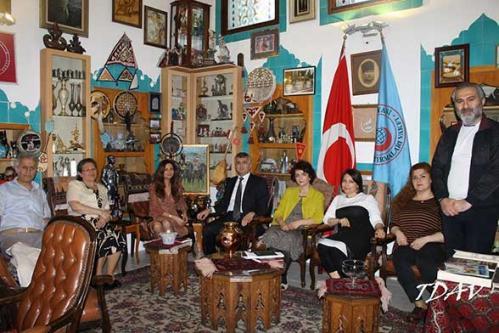 TUMİB Azerbaycan'da Yapılacak Avrupa Oyunları İçin Vakfımızda Toplantı Düzenledi