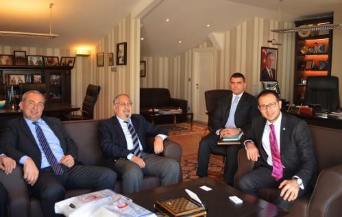 Türk Keneşi Türk Konseyi'ni Ziyaret Ettik