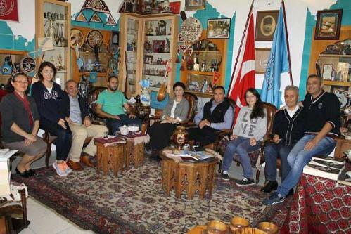 Türk-Turan Davası Yolcuları Vakfımızı Ziyaret Ettiler