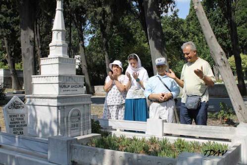 Türkçü Zirvelere Duada Bulunduk