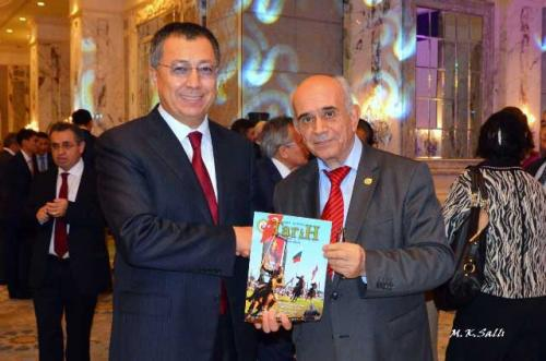 Kazakistan'ın Bağımsızlık Günü Resepsiyonuna Katıldık