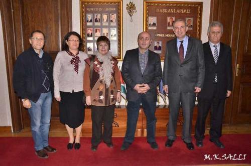 Türk Dünyası Belediyeler Birliğine Ziyaret